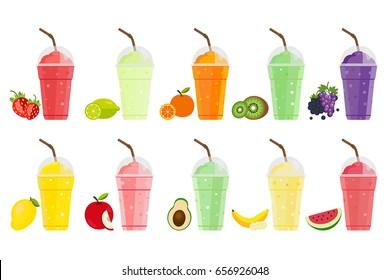 Ilustraciones, imágenes y vectores de stock sobre Avocado Cocktail