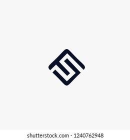 FS Letter Logo Design
