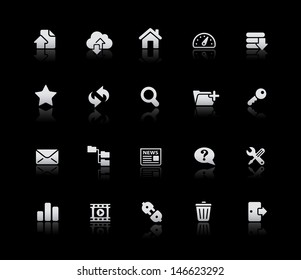 FTP & Hosting Icons // Silver Series