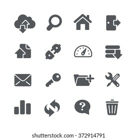 FTP & Hosting Icons // Utility Series
