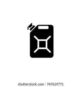 fuel canister vector icon