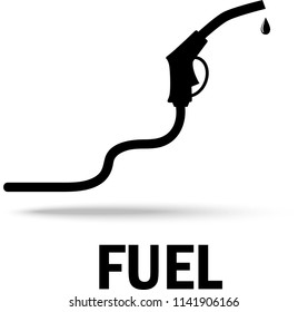Fuel concept. Vector Illustration