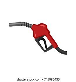 Fuel dispenser isolated on white background. Vector for your web site design, logo, app, UI. Vector illustration, EPS
