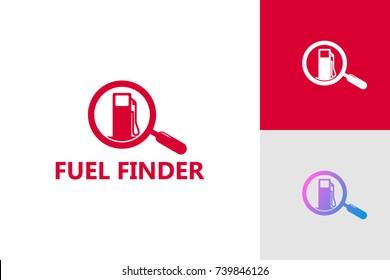 Fuel Finder Logo Template Design