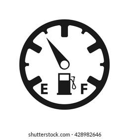 Fuel icon Vector Illustration on the white background.