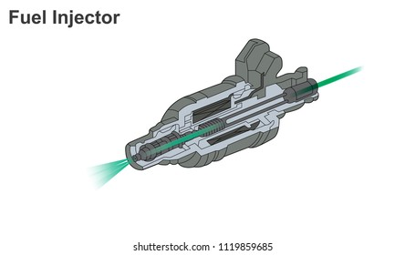 Fuel injection is the introduction of fuel in an internal combustion engine, most commonly automotive engines, by the means of an injector.