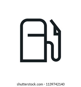 Fuel Modern Simple Outline Vector Icon