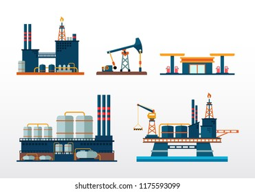 Fuel, Oil and Gas Production Manufacturing Plant