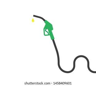Fuel pipe vector graphic design.