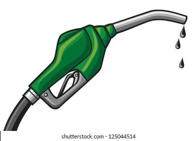 fuel pump nozzle vector