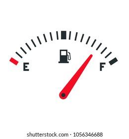 Fuel Gauge Images, Stock Photos & Vectors | Shutterstock