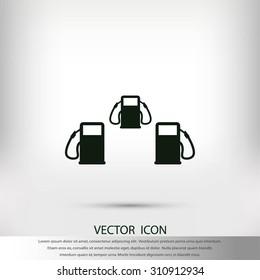 Fuel vector icons