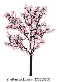 cherry blossom cartoon images stock photos vectors shutterstock rh shutterstock com cherry blossom cartoon gif cherry blossom cartoon images