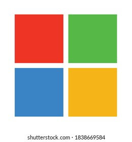 full color red blue yellow background vector Microsoft Windows