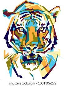 Full color tiger