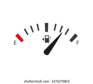 full and empty tank set gasoline sensor, flat style