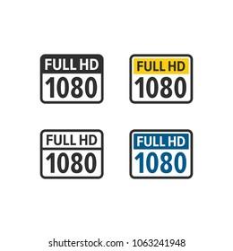 Full hd 1080 icons