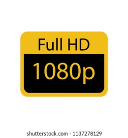 full hd 1080p icon
