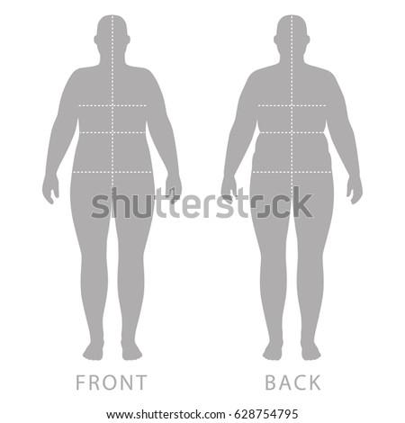 Full front back nude female #7