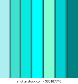 Full set of tiffany blue backgrounds. Abstract tiffany colored palette guide. Vector mint shadows and colors. Fashion popular and beautiful blue mint and tiffany colors guide. Mint blue backgrounds.