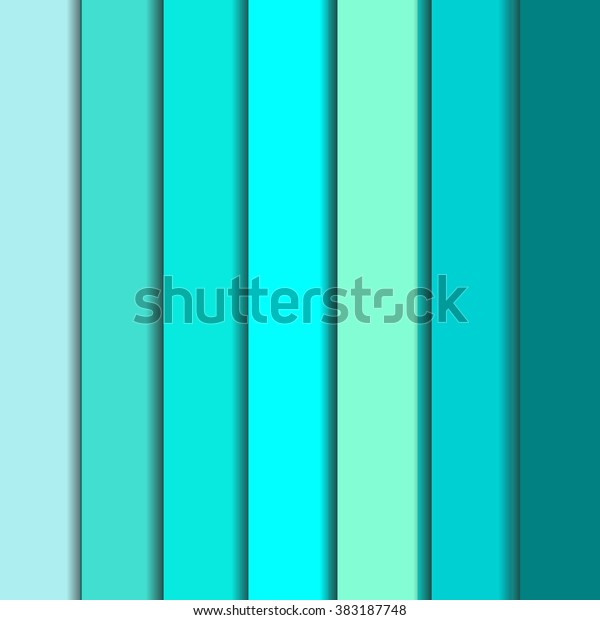Full Set Tiffany Blue Backgrounds Abstract Stock Vector Royalty