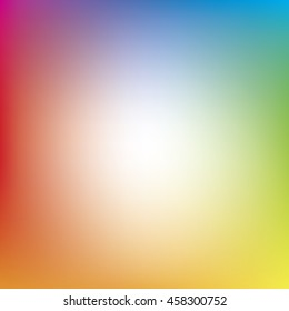 Full Spectrum Colorful Background Gradient - Blue, Green, Yellow, Orange, Red, Magenta, Purple