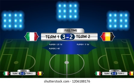 Soccer Half Time Images, Stock Photos & Vectors | Shutterstock
