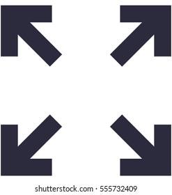 Fullscreen Vector Icon