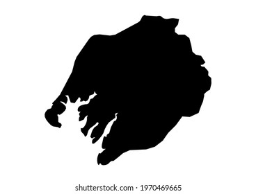 Fully editable, detailed vector map of Boke,Boke Prefecture,Guinea. The file is suitable for editing and printing of all sizes.