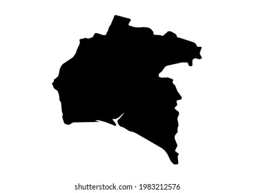 Fully editable, detailed vector map of Huelva,Provincia de Huelva,Spain. The file is suitable for editing and printing of all sizes.