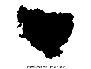 Fully editable, detailed vector map of Huesca,Provincia de Huesca,Spain. The file is suitable for editing and printing of all sizes.