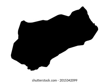 Fully editable detailed vector map of Logone Occidental-Logone Occidental Region-Chad . The file is suitable for editing and printing of all sizes.