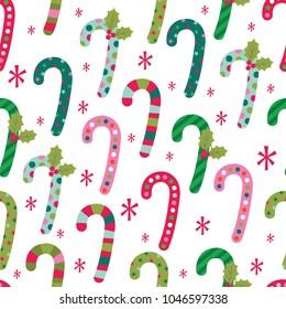 fun christmas candy pattern