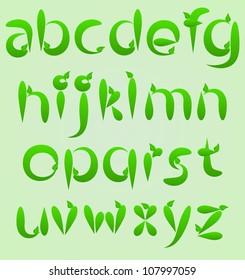 fun colorful alphabet letters vector illustration
