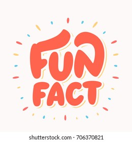 Fun fact. Vector lettering.