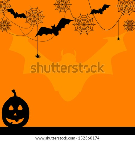 fun halloween border bat background stock vector royalty free
