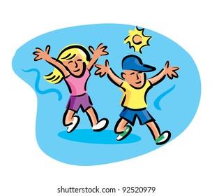 """iKandy's """"Kids Stuff"""" set on Shutterstock"""