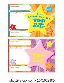 Fun Reward Certificate for kids