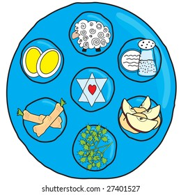 Fun Seder Plate for Passover
