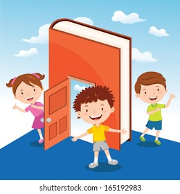 Fun with story book activity