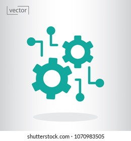 function settings vector icon