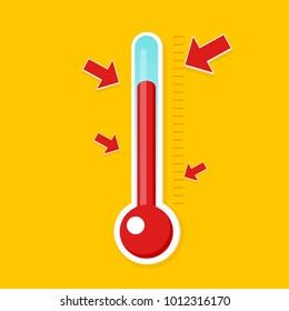 fundraising thermometer icon. Vector illustration