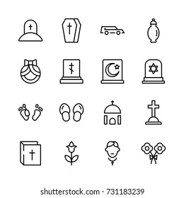 Funeral Icon Images, Stock Photos & Vectors | Shutterstock