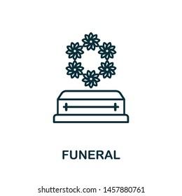 Vectores, imágenes y arte vectorial de stock sobre Funeral Isolated