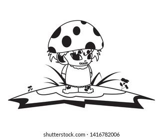 fungu elf in garden magic character