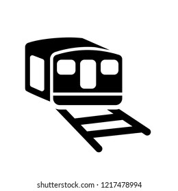 funicular railway icon. Trendy funicular railway logo concept on white background from Transportation collection. Suitable for use on web apps, mobile apps and print media.