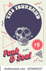 Funk & Soul Gig Poster Flyer Template
