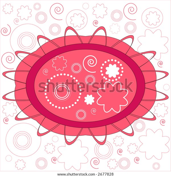 funky shapes and summer fun seamless and easily editable  vector