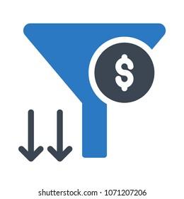funnel  sort cash