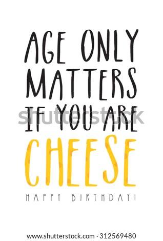 Funny Birthday Card Stock Vector Royalty Free 312569480 Shutterstock